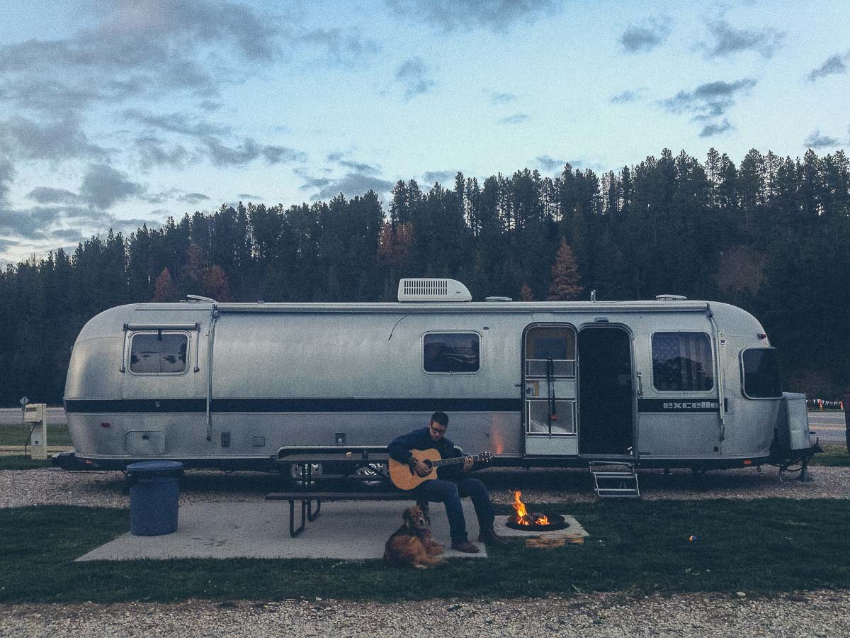 south dakota campsite