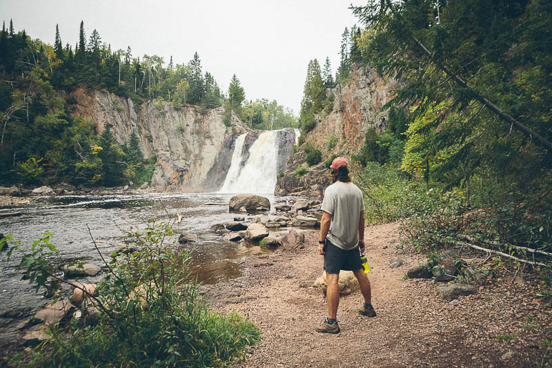 explore minnesota high falls