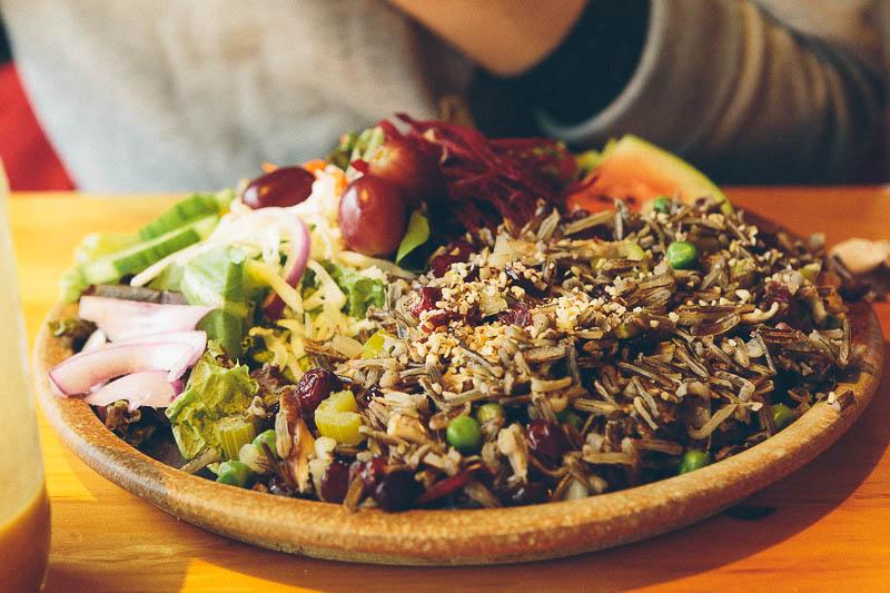 explore minnesota wild rice salad